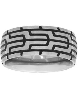 Abstract Patterned Ring