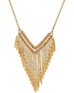 14k Italian Gold Mesh Necklace