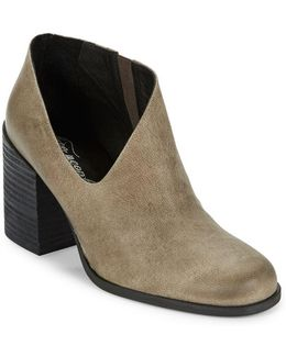 Terrah Leather Ankle Booties
