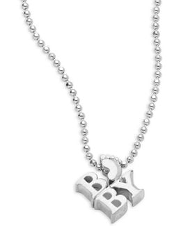 Baby Sterling Silver Pendant Necklace