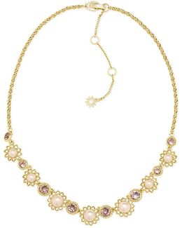 Pearl Foldover Necklace