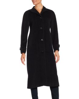Long Wool Blend Walker Coat