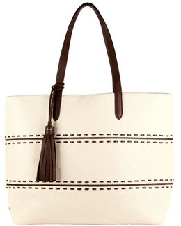 Pinch Leather Tote