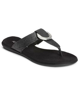 Supper Chlub Slip-on Thong Sandals
