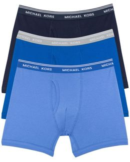 Three-pack Cotton Boxer Briefs