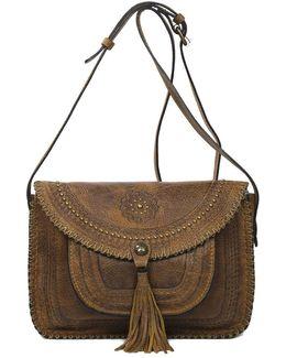 Beaumont Suede Crossbody Bag