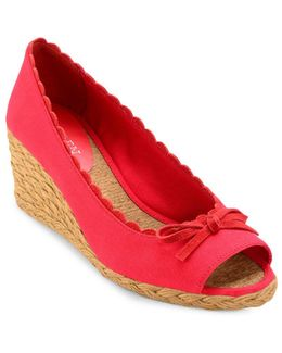 Chaning Open Toe Espadrilles