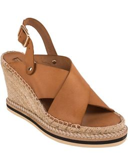 Emily Espadrille Wedge Sandals