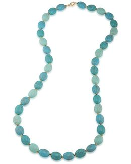 Paradise Found Turquoise Beaded Necklace