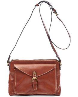 Avellino Leather Crossbody Bag