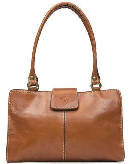 Rienzo Leather Satchel Bag