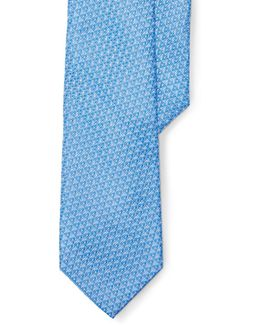 Diamond Silk Jacquard Tie