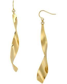 Linear Twist Earrings