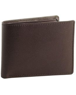 Leather Passcase Wallet