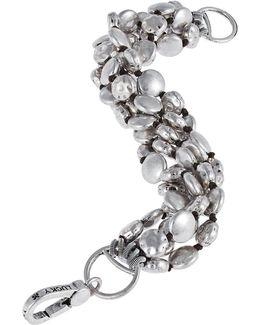 Five Row Coin Bracelet