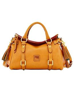 Florentine Mini Leather Satchel