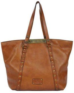 Sumrose Leather Tote Bag