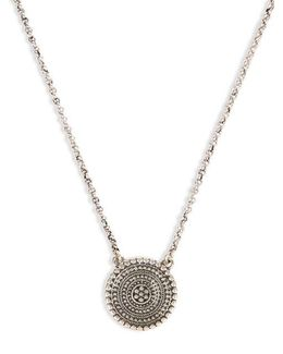 Silvertone Pendant Necklace