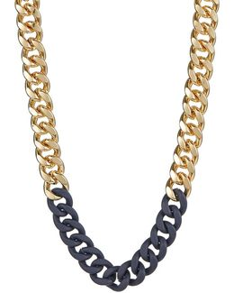Chain-link Collar Necklace