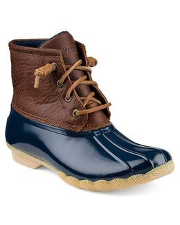 Saltwater Leather Booties