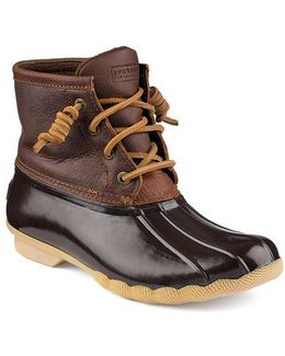 Saltwater Leather Boots