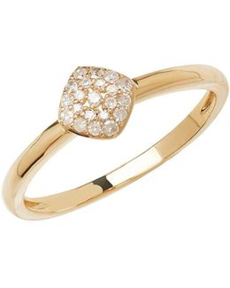 14kt Yellow Gold And Diamond Ring