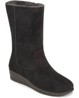 Plantation Suede Mid Shaft Boots