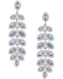 Baron Crystal Pavé Chandelier Statement Earrings