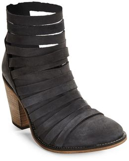 Hybrid Strappy Ankle Boots