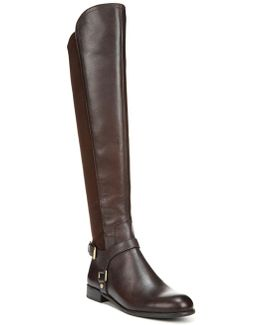 Mast Leather Over-The-Knee Boots