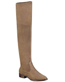 Livi Over-the-knee Faux Suede Boots