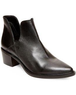Dextir Leather Ankle Boots