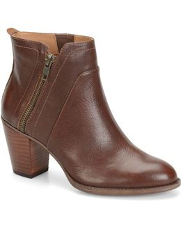 West Leather Ankle Boots