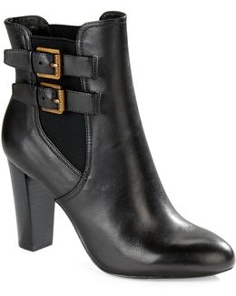 Viv Leather Booties
