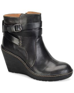 Caralee Wedge Ankle Boots