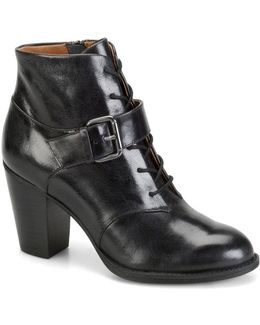 Wendy Leather Booties