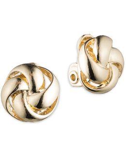 Woven Knot Earrings