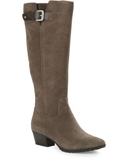 Tadao Suede Knee High Boots
