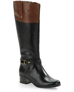 Coloradee - Wide Calf Leather Boots