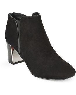 Cosmo Suede Ankle Boots