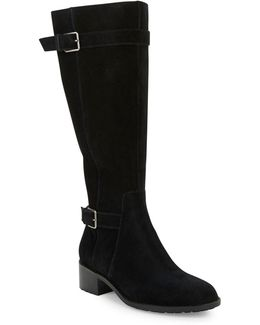 Putnam Suede Knee-high Boots