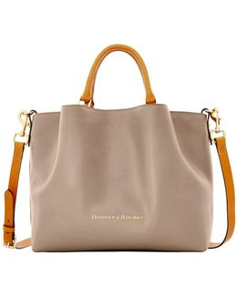 City Large Barlow Leather Tote