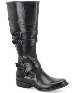 Odom Buckle Riding Boots