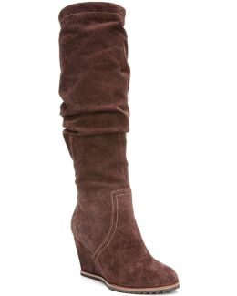 Inka Suede Knee-high Boots