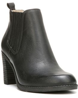London Leather Ankle Boots