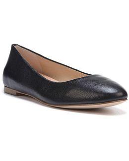 Vixen Leather Ballet Flats