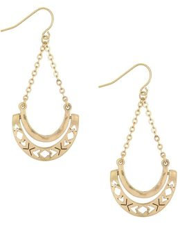 Hinge Trapeze Earrings