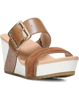Original Frill High Wedge Sandals