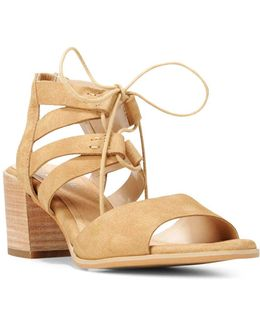 Original Mista Leather Lace-up Sandals