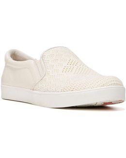 Original Scout Macrame And Leather Slip-on Sneakers